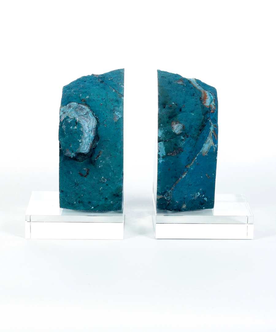 Splendiferous Geode Bookends | Redoubtable Geode Bookends for Sale