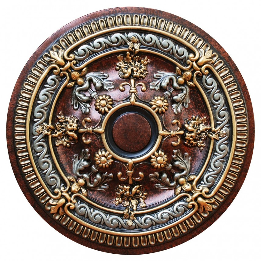 Split Ceiling Medallion | Chandelier Ceiling Plate | Ceiling Medallion