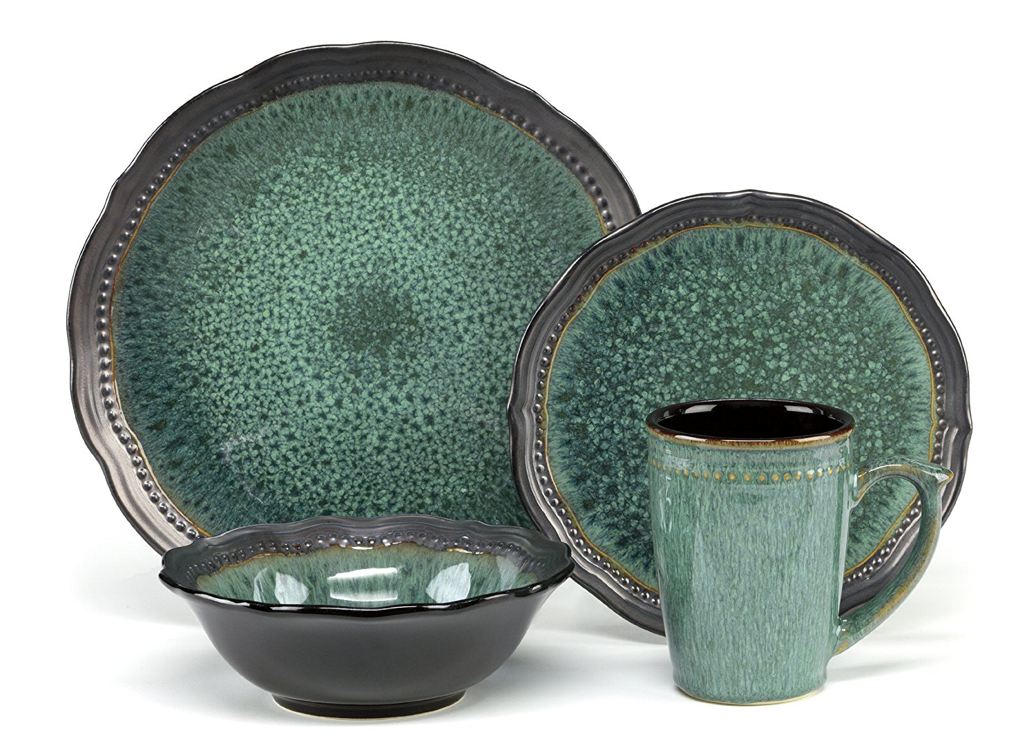 Square Dish Sets | Dish Sets for 8 | Stoneware Dinnerware Sets