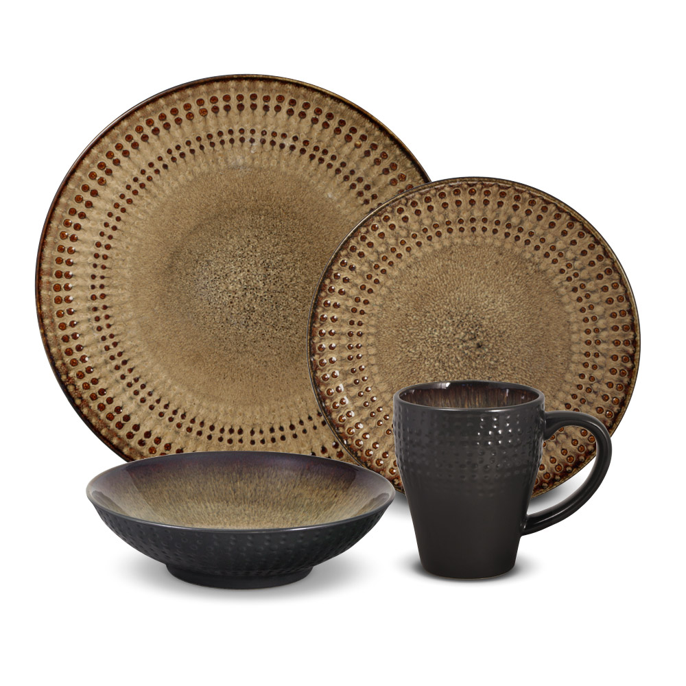 Stoneware Dinnerware Sets | Square Dinnerware Sets | Gibson Stoneware  sc 1 st  Stephaniegatschet.com & Dining Room: Stoneware Dinnerware Sets | Square Dinnerware Sets ...