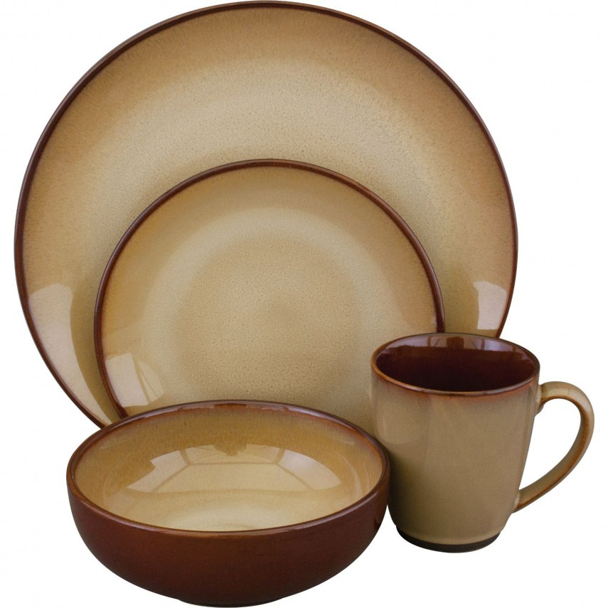 Stoneware Dinnerware Sets | Thomson Pottery Stoneware Dinnerware Set | Gibson Dinnerware Sets
