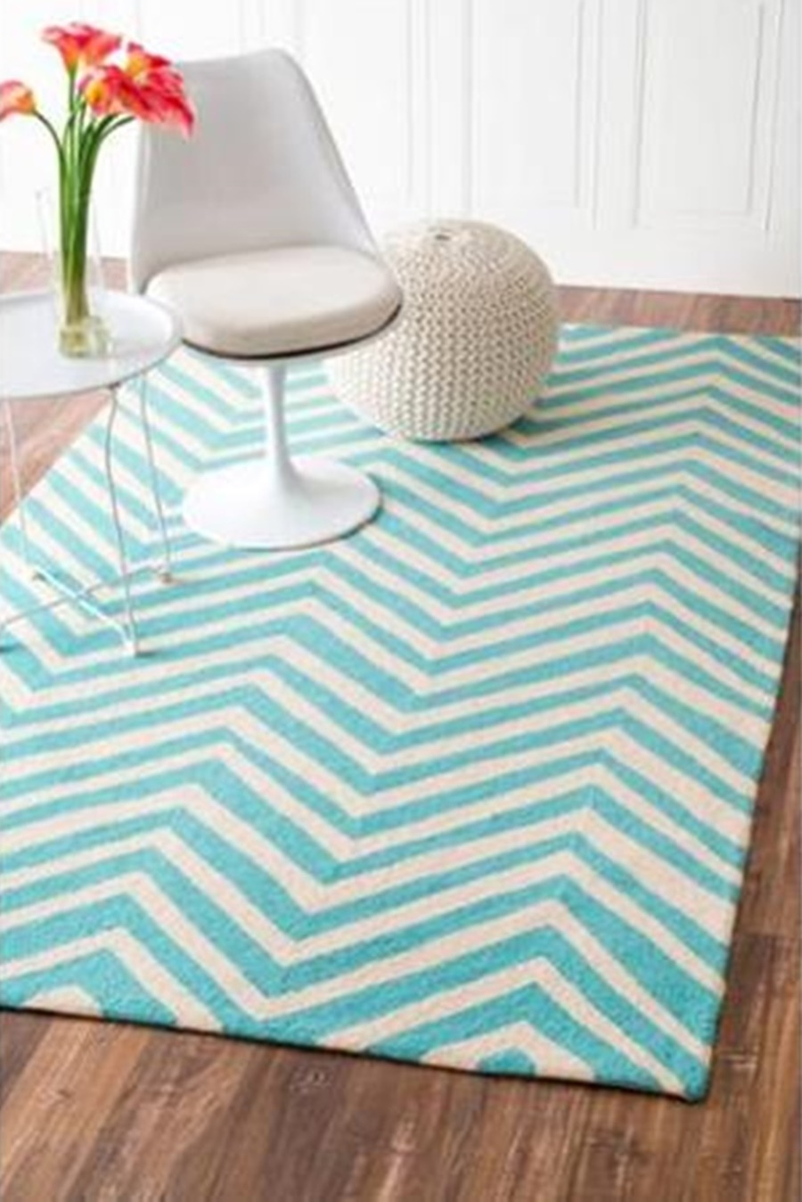 Stripe Indoor Outdoor Rug | Chevron Rug | Ballard Indoor Outdoor Rugs