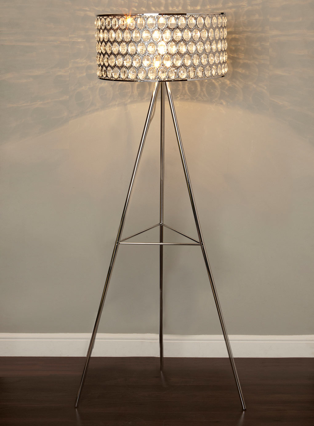 Studio Tripod Floor Lamp | Swing Arm Floor Lamps | Tripod Lamp