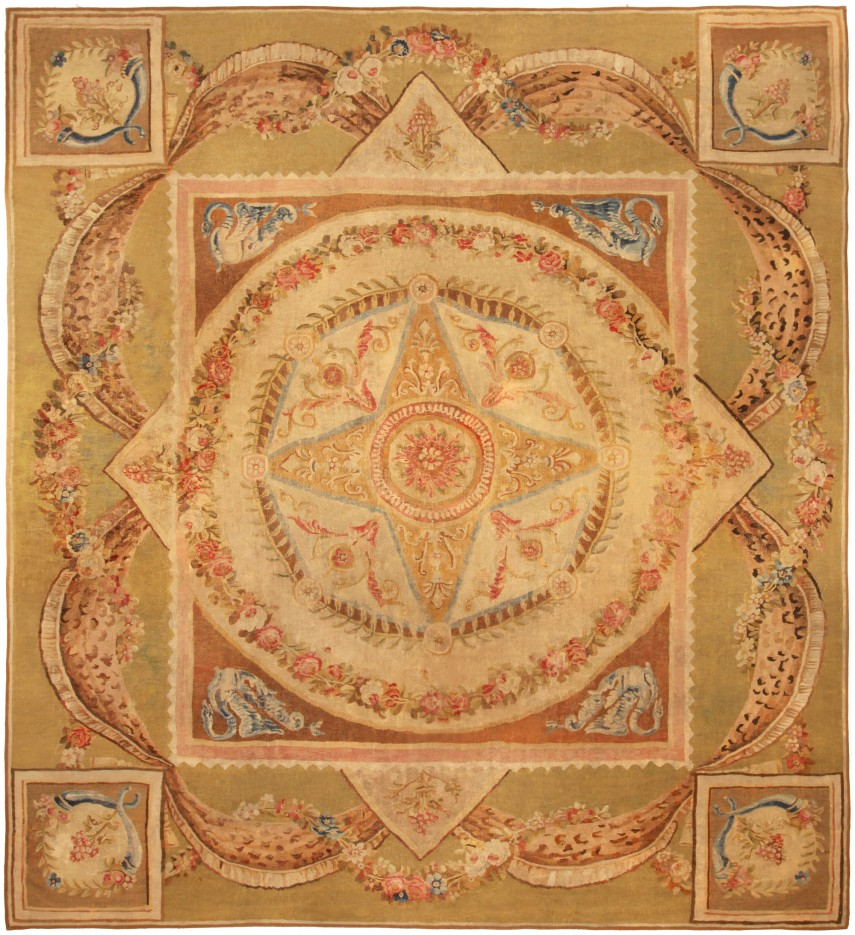 Stunning Aubusson Rugs | Dazzling French Aubusson Tapestry Ideas