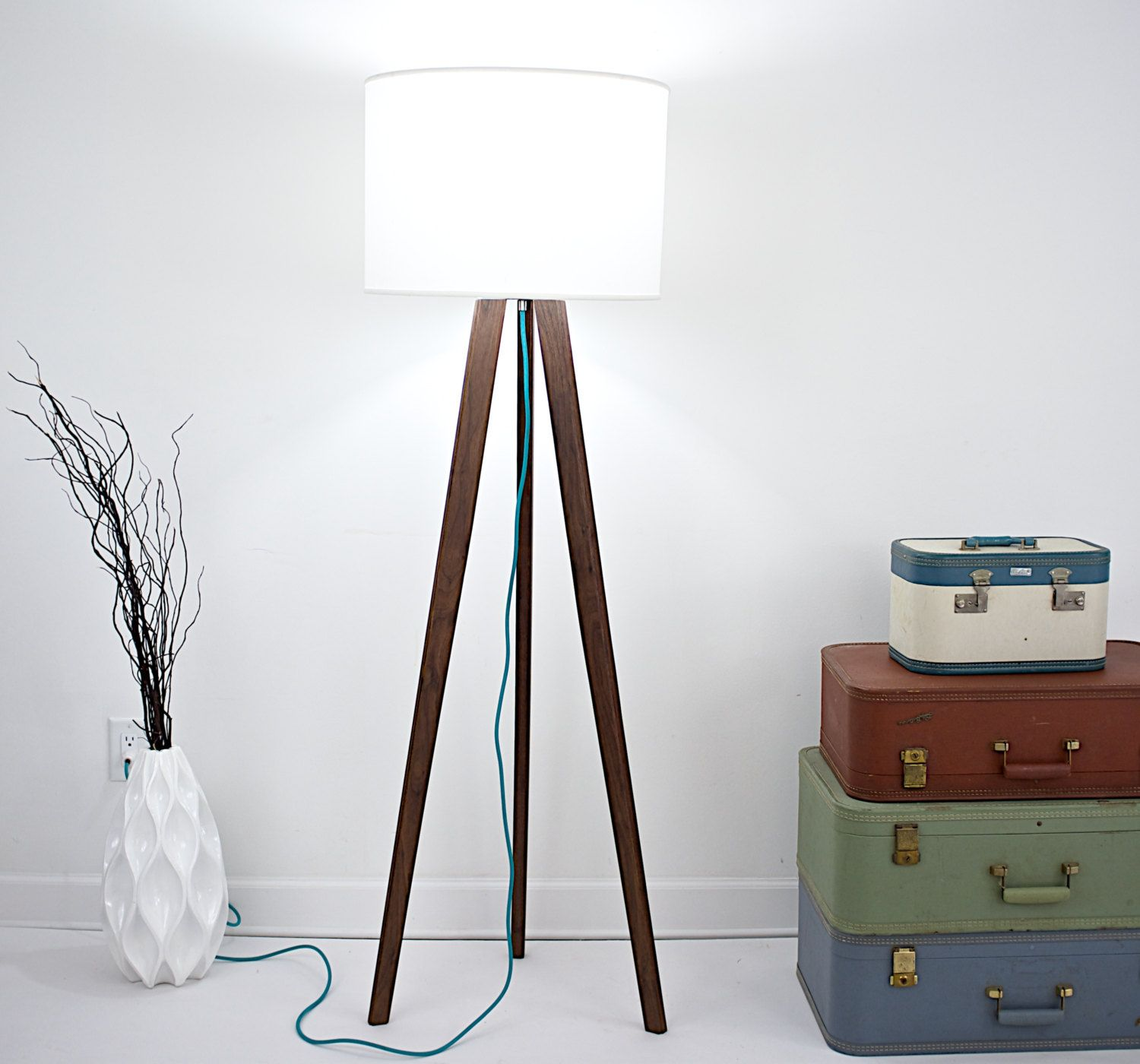Swing Arm Floor Lamp Bronze | Tripod Lamp | Target Tripod Lamp