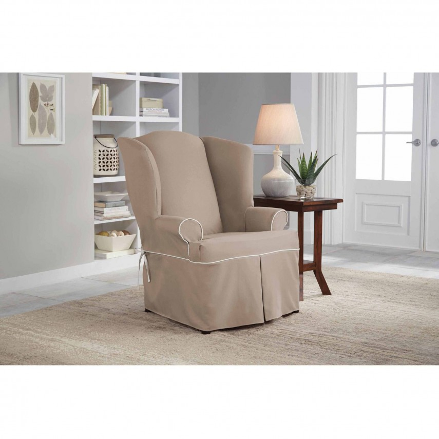 T Cushion Loveseat Slipcover | T Cushion Sofa Slipcover | Couch Slipcovers