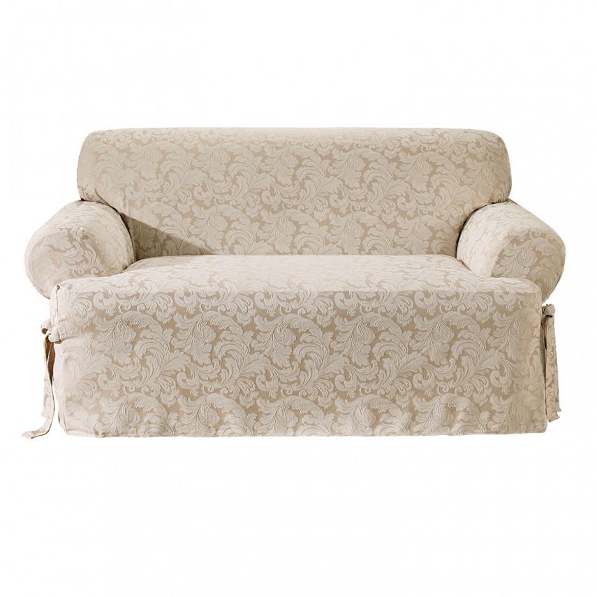 T Cushion Sofa Slipcover | Chair Slipcovers T Cushion | One Piece Couch Cover