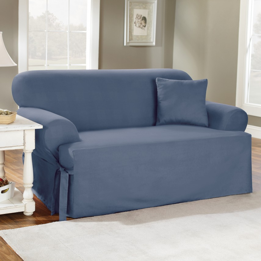 T Cushion Sofa Slipcover | T Cushion Slipcover Sofa | Sure Fit 3 Piece Sofa Slipcover