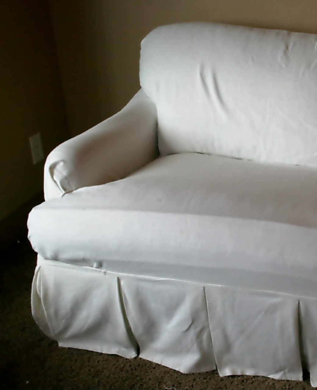 T Cushion Sofa Slipcover | T Cushion Sofa | Sofa Slipcovers with Individual Cushion Covers