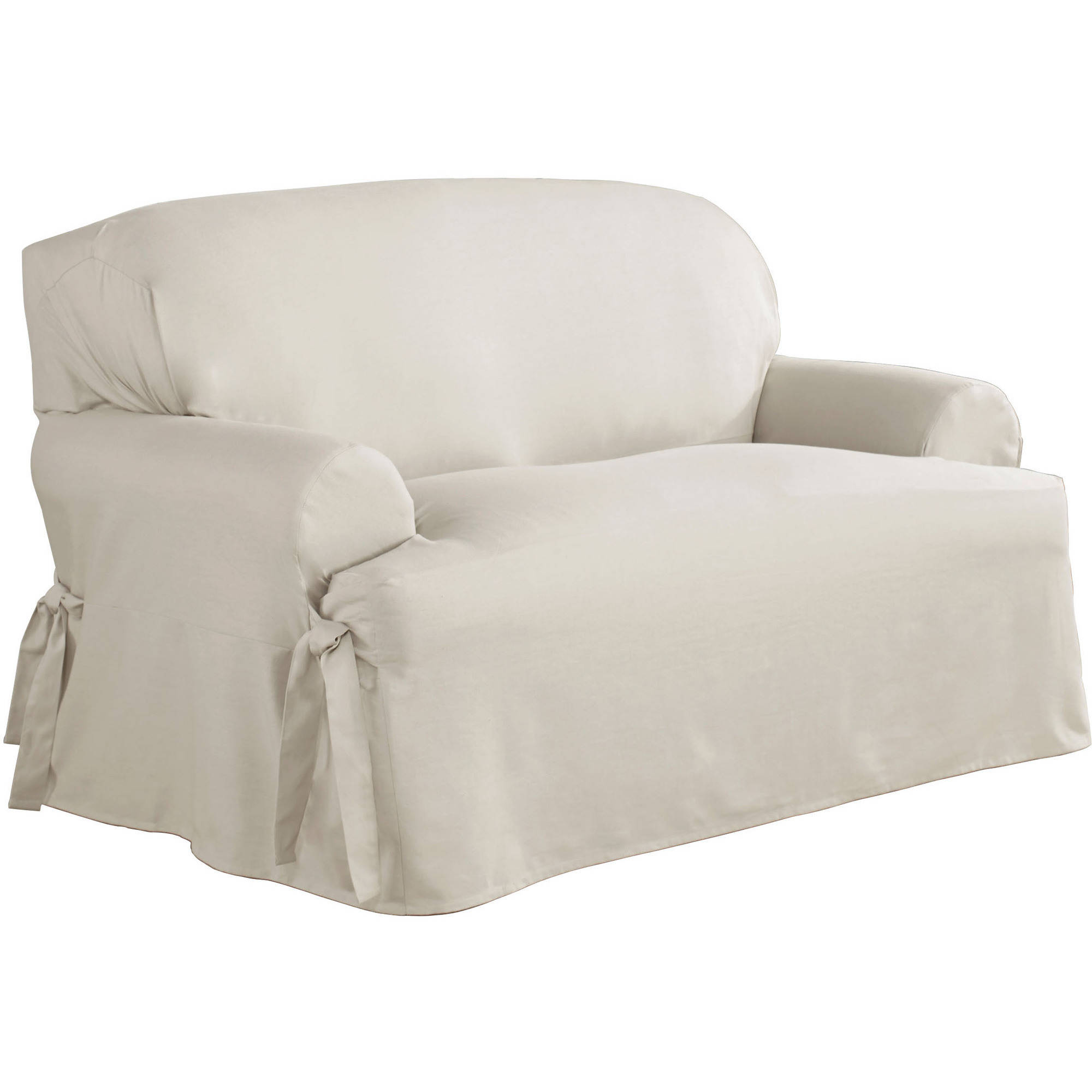 T Cushion Sofa Slipcovers 3 Piece | T Cushion Sofa Slipcover | Slipcovers for Loveseats with 2 Cushions