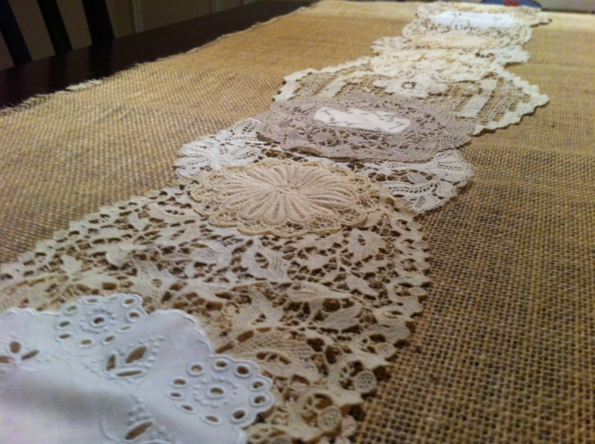 Table Runners Etsy | Striped Table Runner | Lace Table Runners