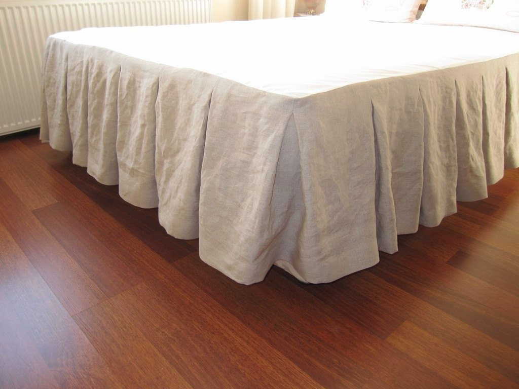 Tailored Bedskirt | Bed Ruffle | Bed Skirts Queen