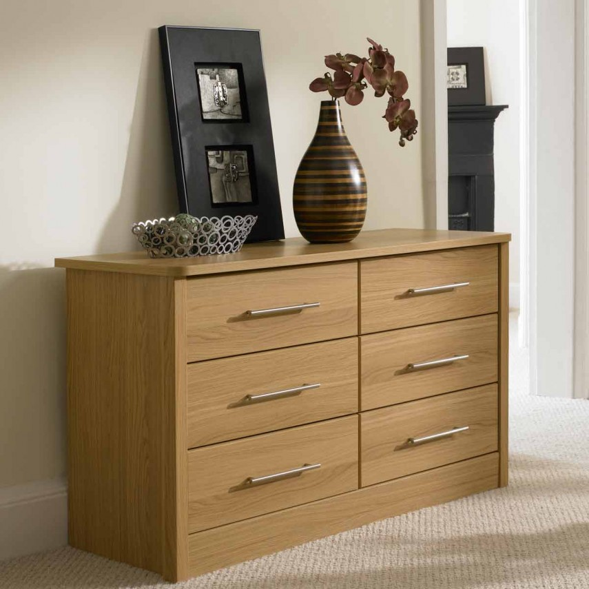Tall Drawer Chest | Oak Chest Of Drawers | Drawer Chest