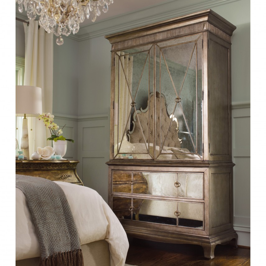 Tall Dressers | Armoire With Mirror | Armoire Furniture