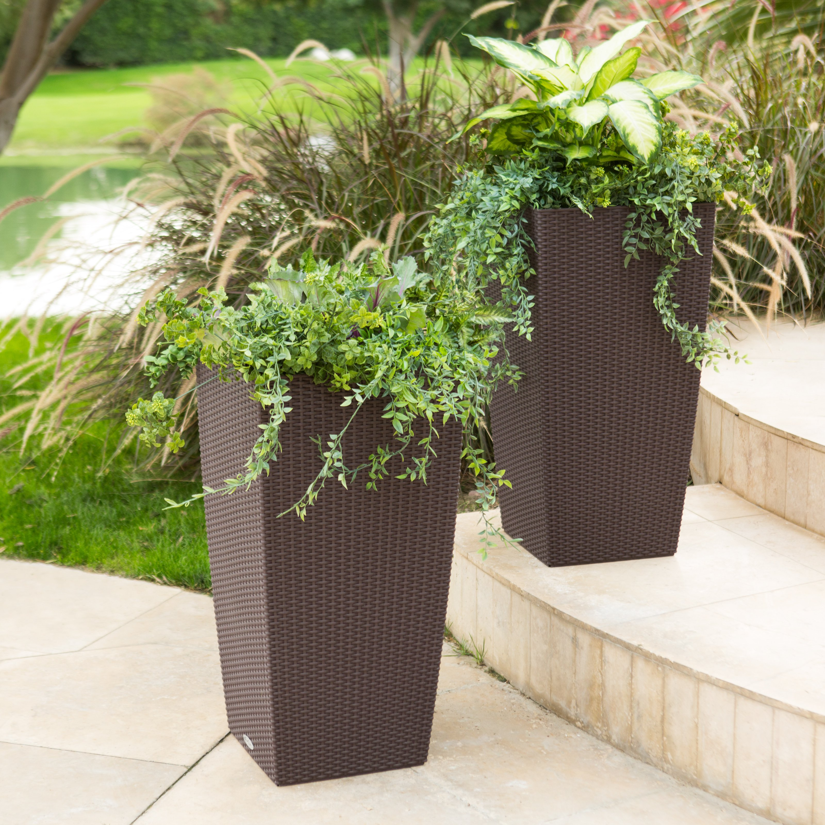 Tall Planters | Contemporary Planters | Terra Cotta Pots Home Depot