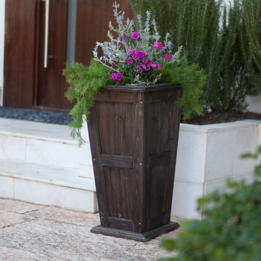 Tall Planters | Front Door Planters | Flower Planters