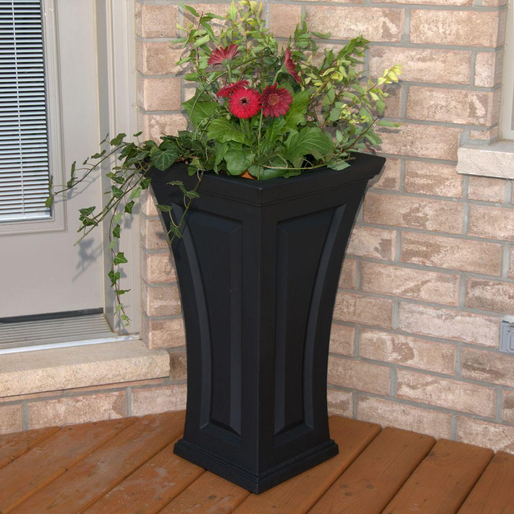 Tall Planters Tall Planter Box Outdoor Tall Planters Tall Tapered Planters  Large Rectangular Planters Large Outdoor Flower Pots Large Ceramic Pots  Walmart ... - Large Patio Planter Pots. Patio Plants For Shade Good Potted Plant
