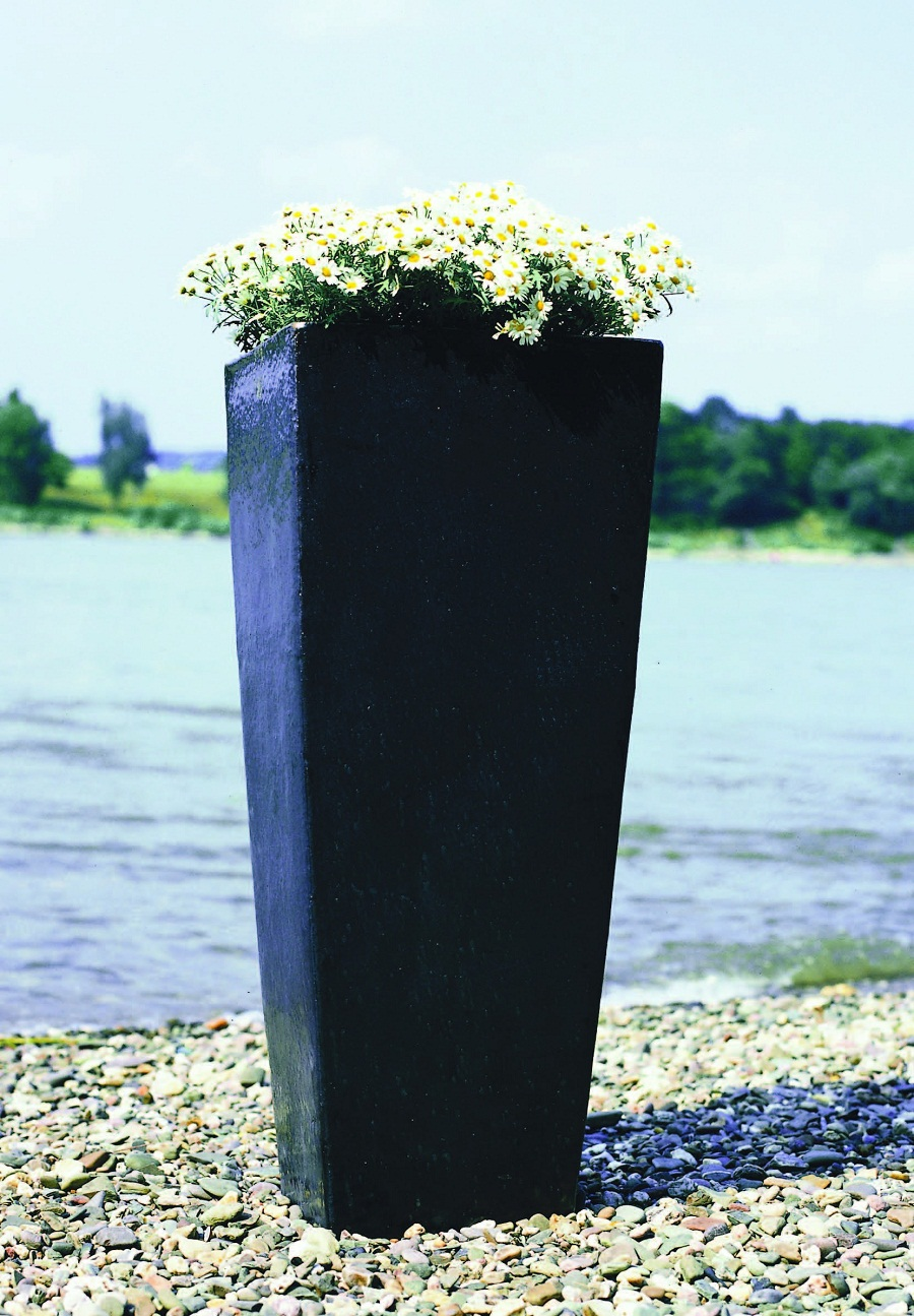 Tall Urn Planters | Rectangular Planter Box | Tall Planters