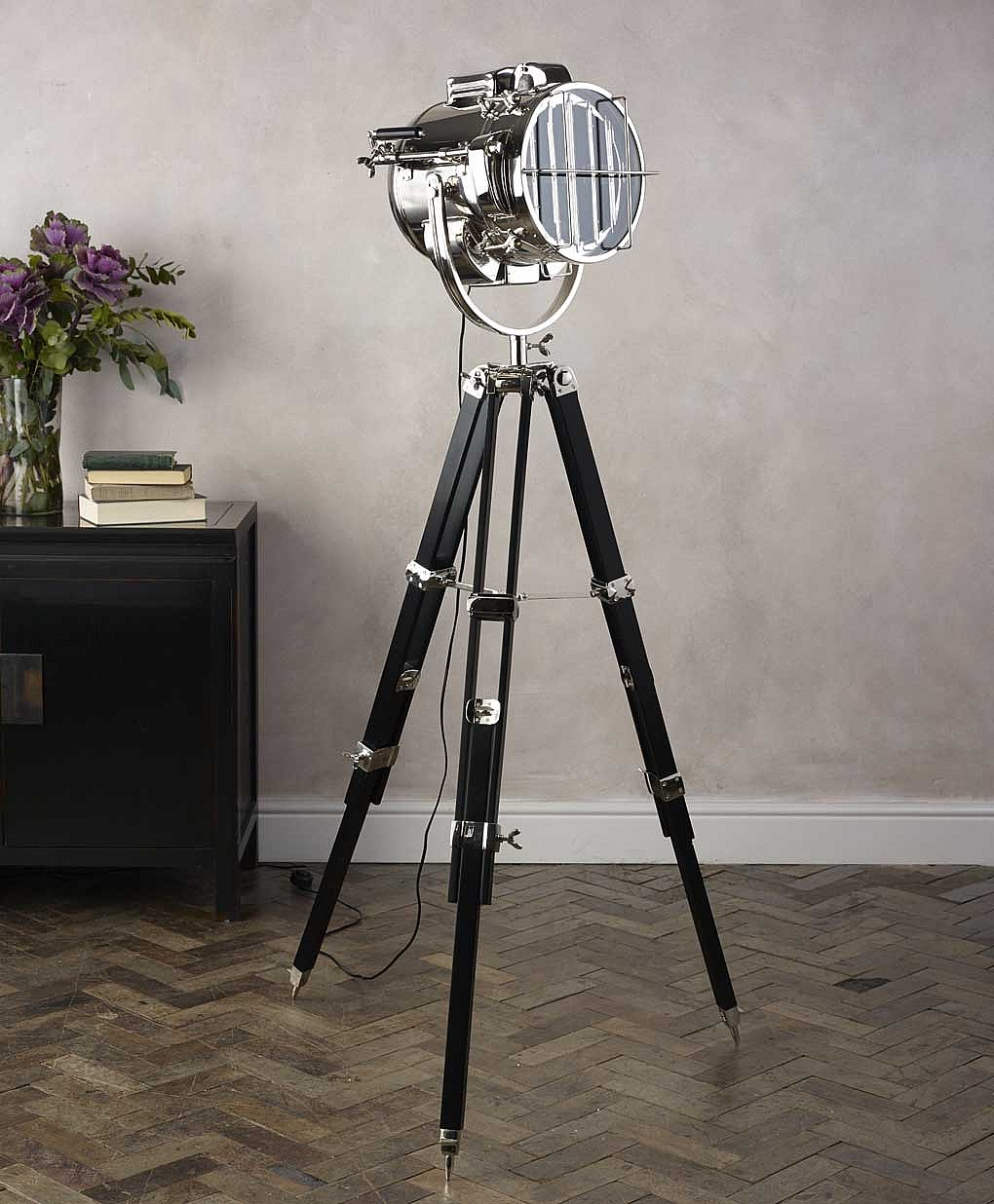 Awesome Tripod Lamp for Interior Lighting Ideas: Target Tripod Floor Lamp | Tripod Lamp | Potterybarn Floor Lamp