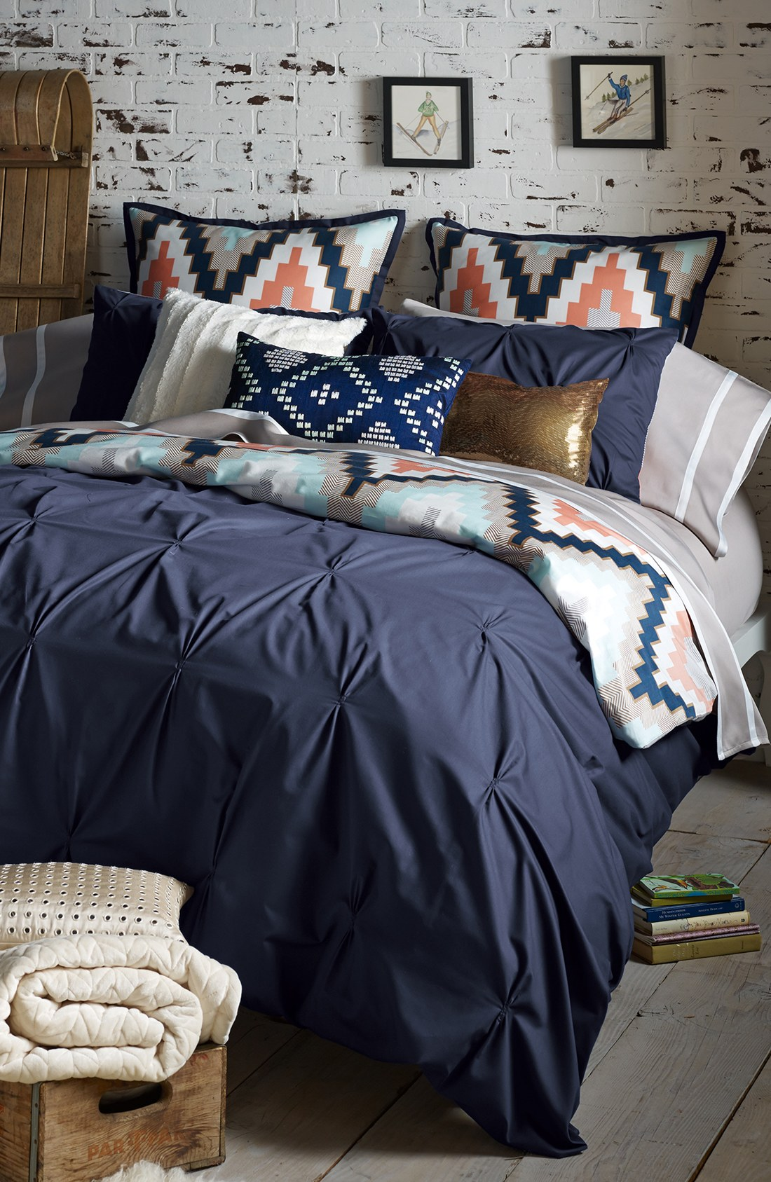 Taupe Comforter Sets Queen | Twin Comforters | Navy Blue Comforter