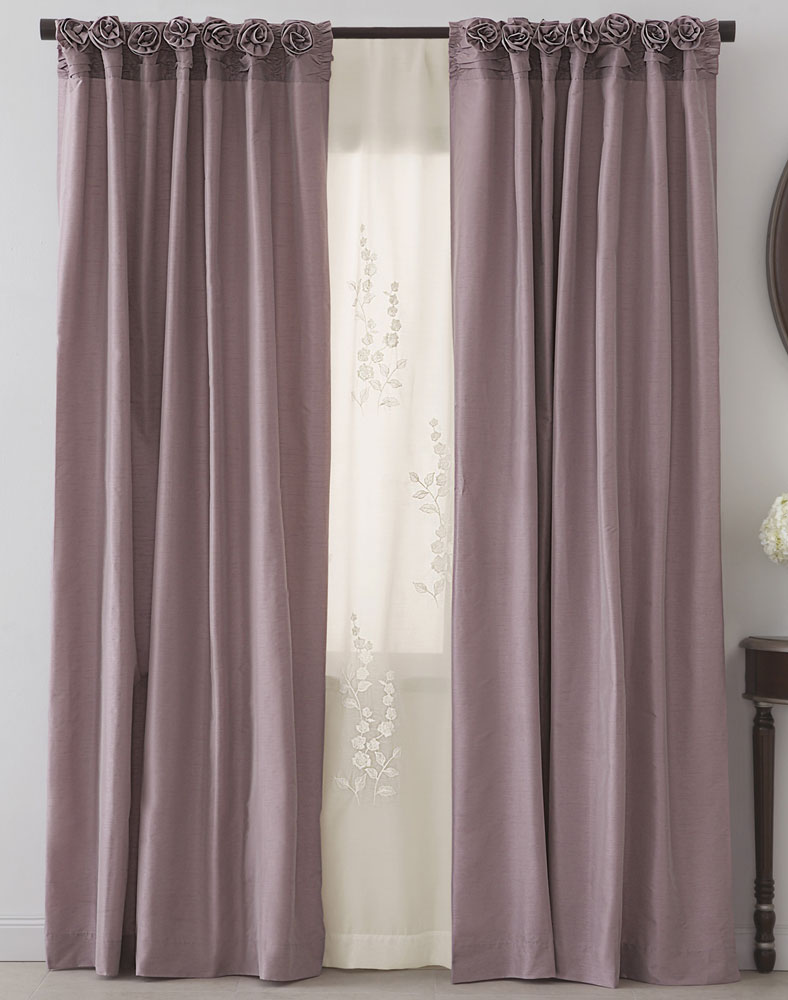 Taupe Curtains | Window Drapes | Corner Window Drapes