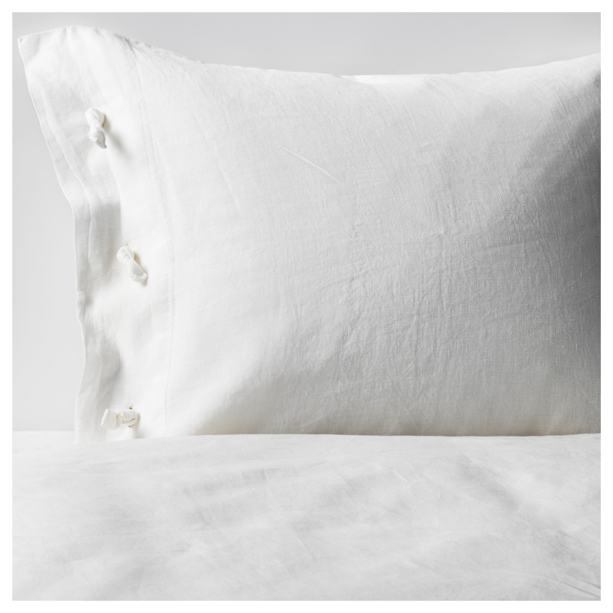 Textured White Duvet Cover | White Ruched Duvet Cover Queen | White Duvet Cover