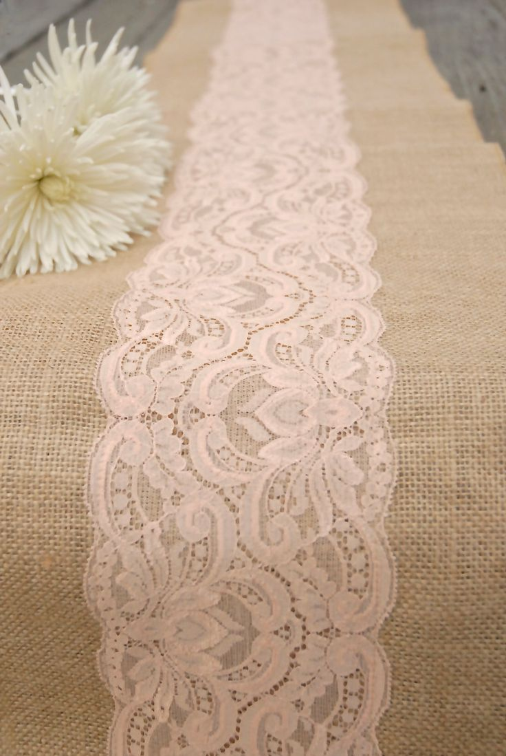 Thanksgiving Table Runner | Linen Table Runner | Lace Table Runners