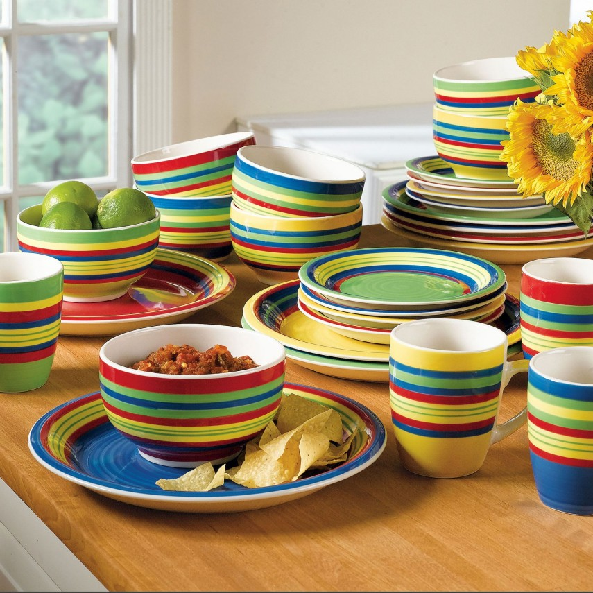 Thomson Pottery Stoneware Dinnerware Set | Ikea Dinnerware Set | Stoneware Dinnerware Sets