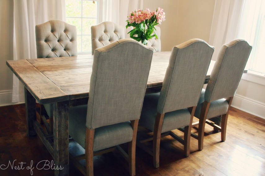 Threshold Tufted Dining Chair | Tufted Seat | Tufted Dining Chair