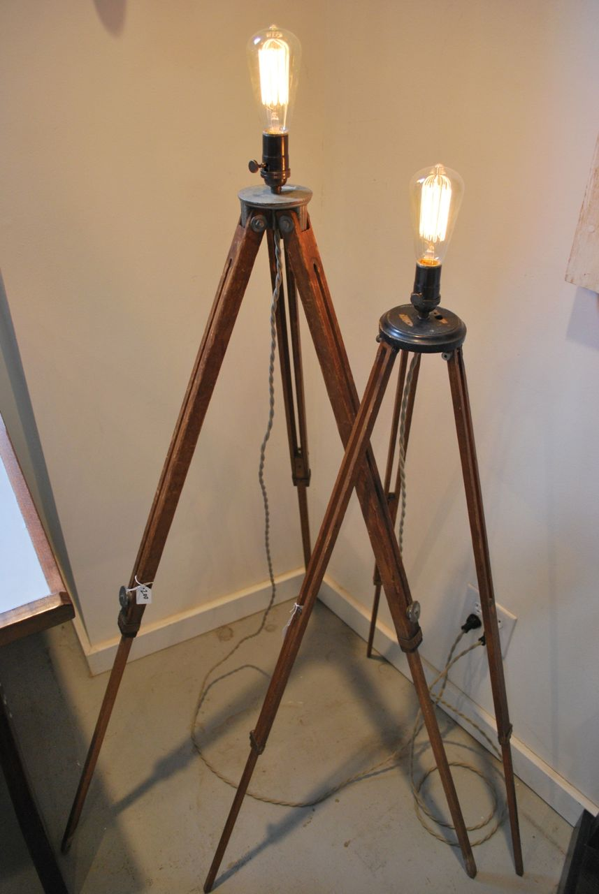 Tripod Lamp | Brass Pharmacy Floor Lamp | Target Wood Lamp