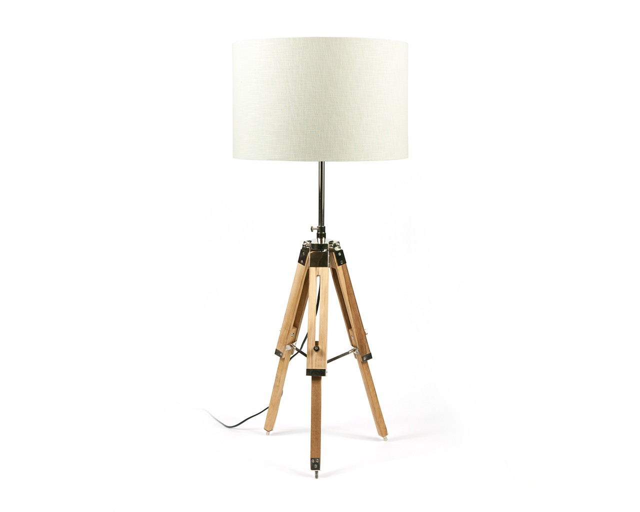 Tripod Lamp | Crate Flooring | Antique Brass Lamps