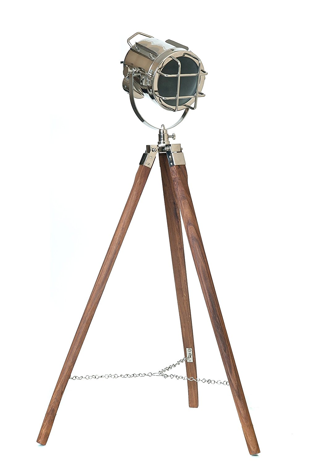 Tripod Lamp | Photographers Tripod Floor Lamp | Gold Tripod Floor Lamp