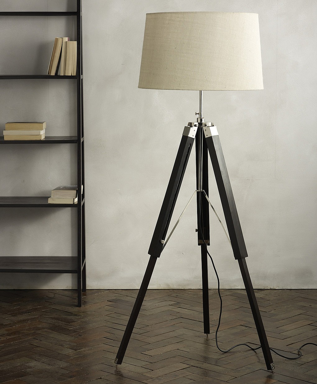 Tripod Lamp | Reading Floor Lamps Adjustable | Crate and Barrel Lamps
