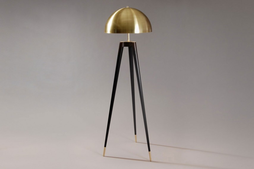 Tripod Lamp | Retro Tripod Floor Lamp | Cb2 Floor Lamp