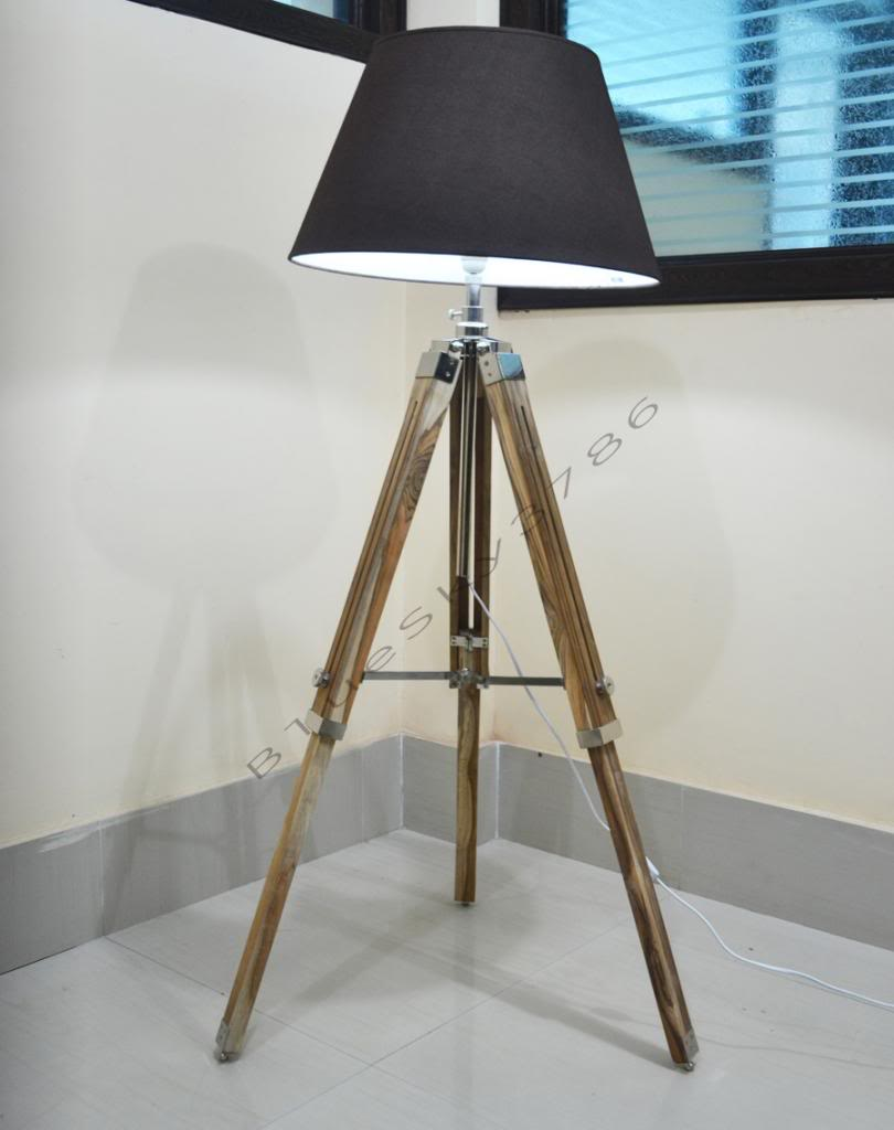 Tripod Lamp | Studio Spotlight Floor Lamp | Cb2 Tripod Floor Lamp