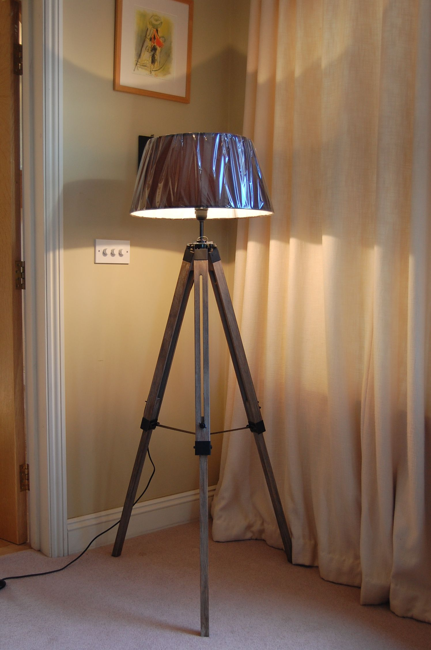 Tripod Lamp | Swing Arm Floor Lamp | Floor Lamp with Storage