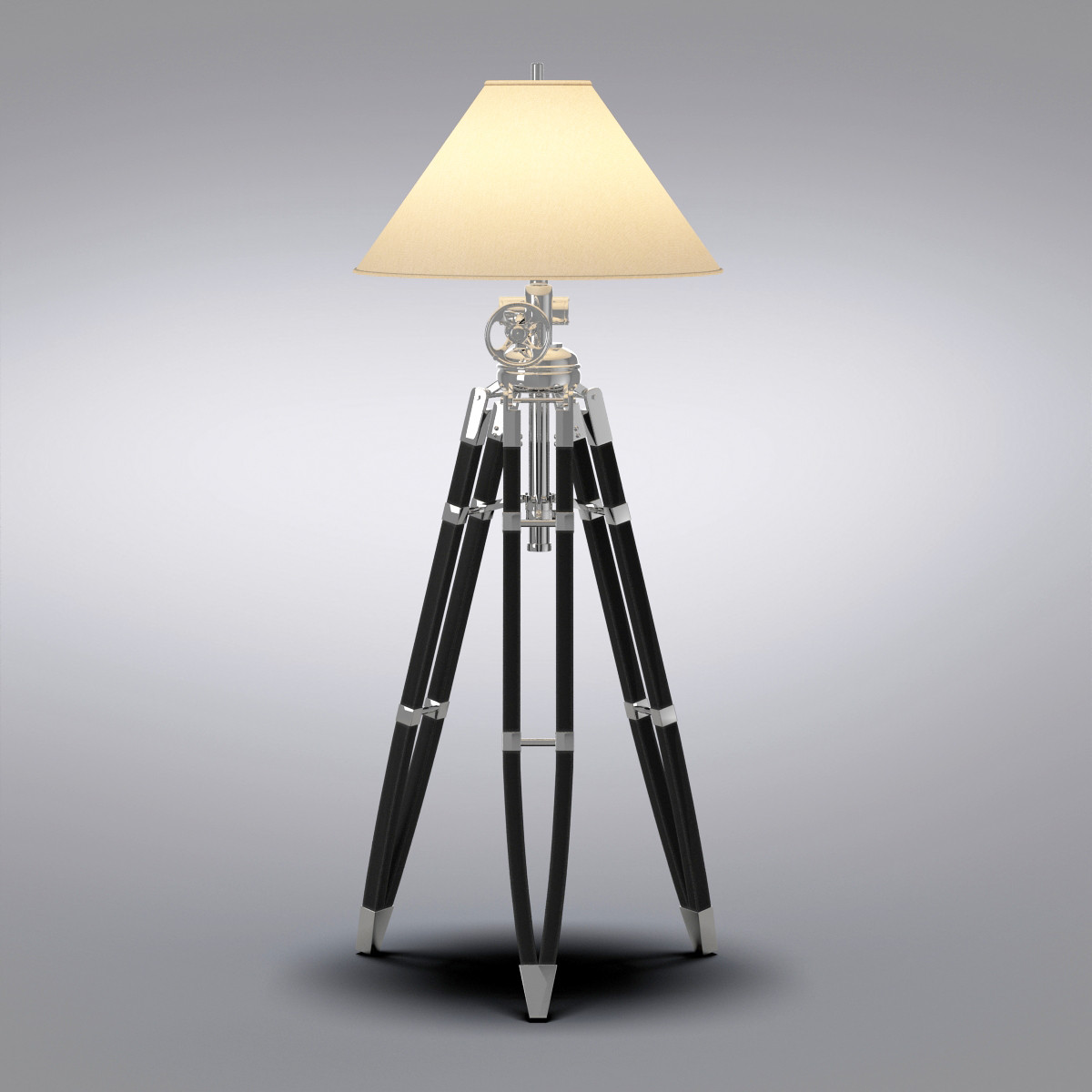 Tripod Table Lamps | Tripod Lamp | Wood Base Floor Lamp
