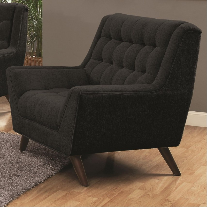 Tufted Chair | Accent Armchair | Swivel Accent Chair With Arms