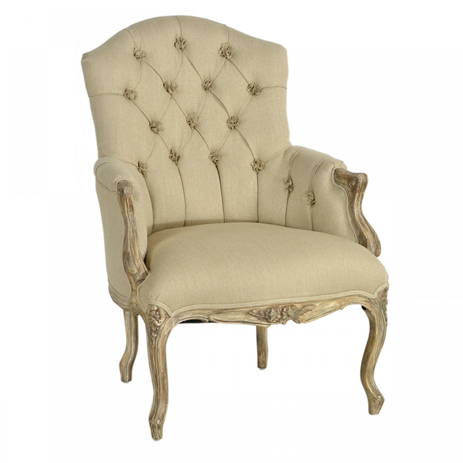 Tufted Chair | Tufted High Back Chair | Tufted Chair