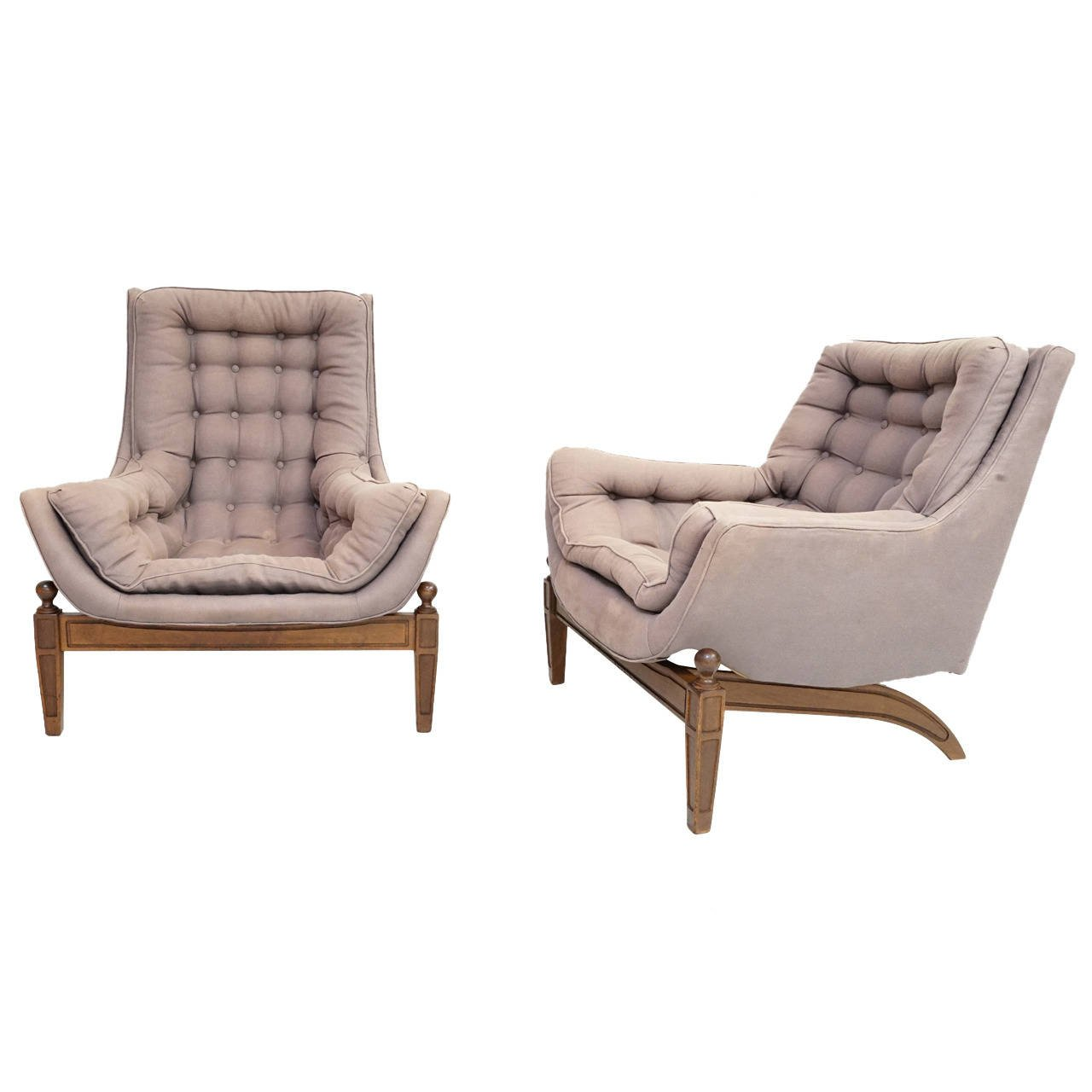 Tufted Chair | White Tufted Accent Chair | Upholstered Accent Chairs