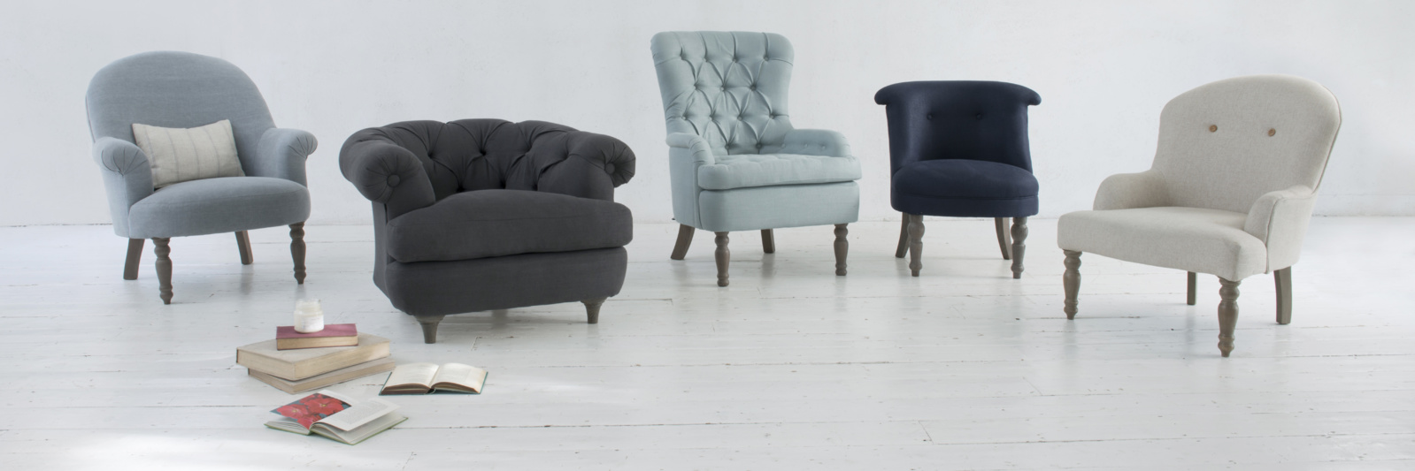 Tufted Club Chair | Unique Occasional Chairs | Occasional Chairs