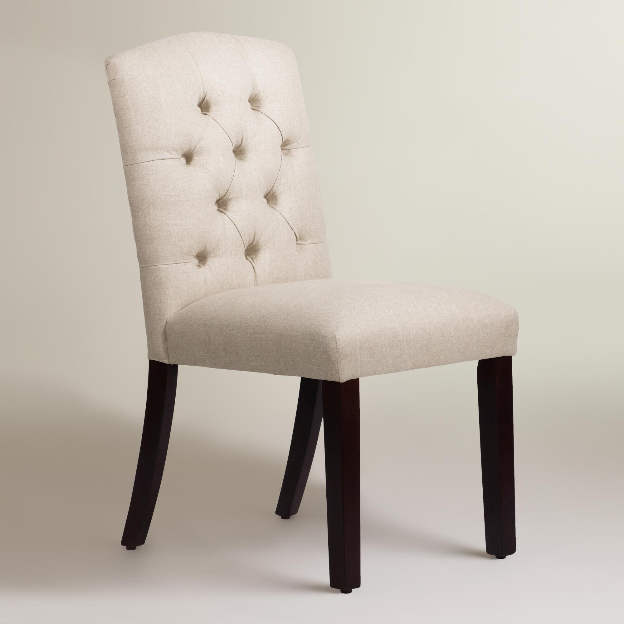 Dining Room Enchanting Tufted Chair For Home Furniture