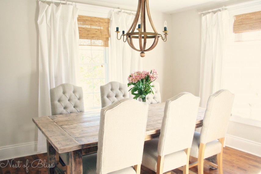 Tufted Dining Chair | Grey Tufted Chair | Turquoise Dining Chair