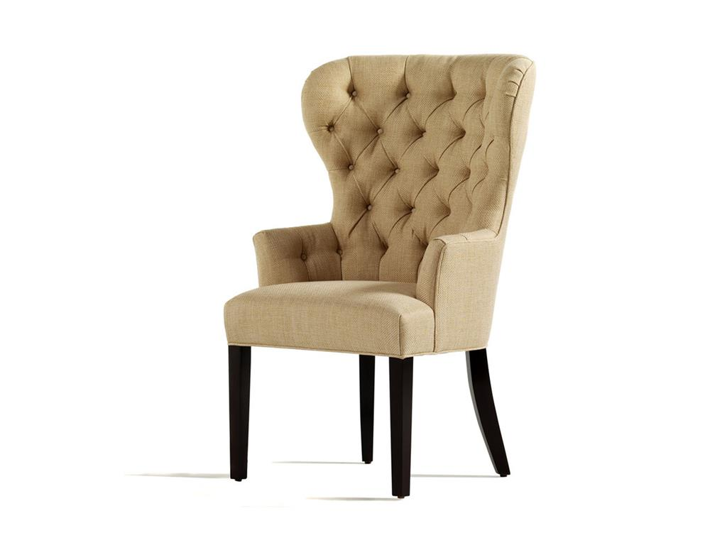 Tufted Dining Chair Set   Tufted Dining Chair   Mustard Dining Chairs