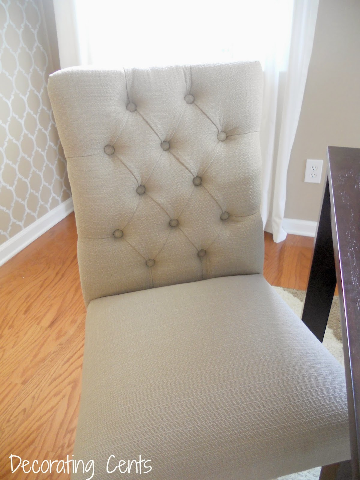 Tufted Dining Chair   Turquoise Dining Chair   Dining Chairs with Nailheads