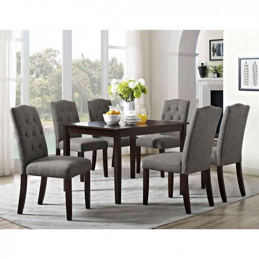 Tufted Dining Chair | Upholstered Dining Chairs | Metal And Wood Dining Chairs