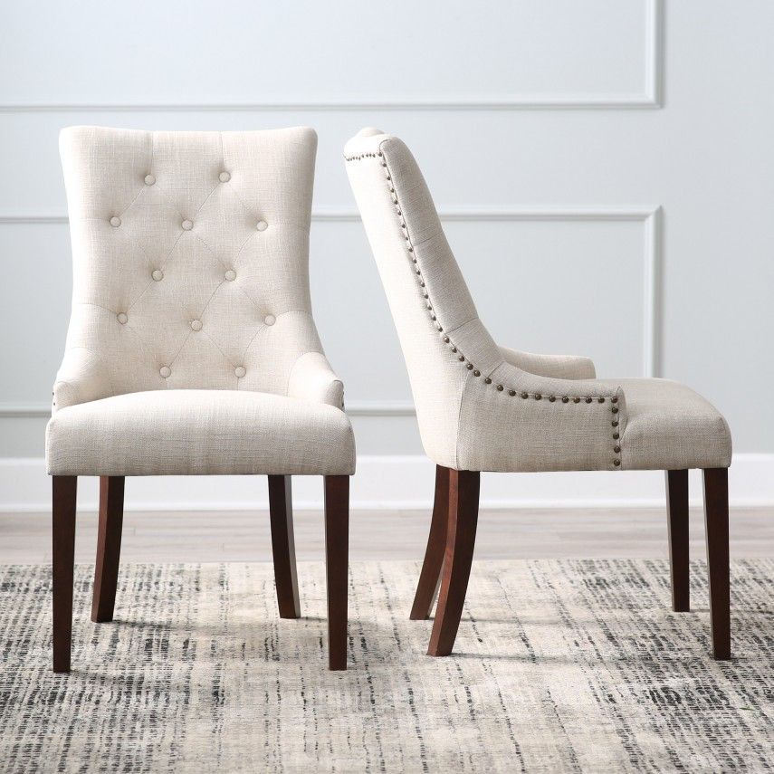 Tufted Dining Chair | Upholstered Dining Chairs | Tufted Chairs