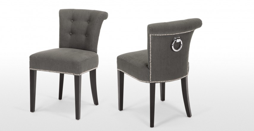 Tufted Leather Dining Room Chairs | Tufted Dining Chair | Wooden Dining Chairs