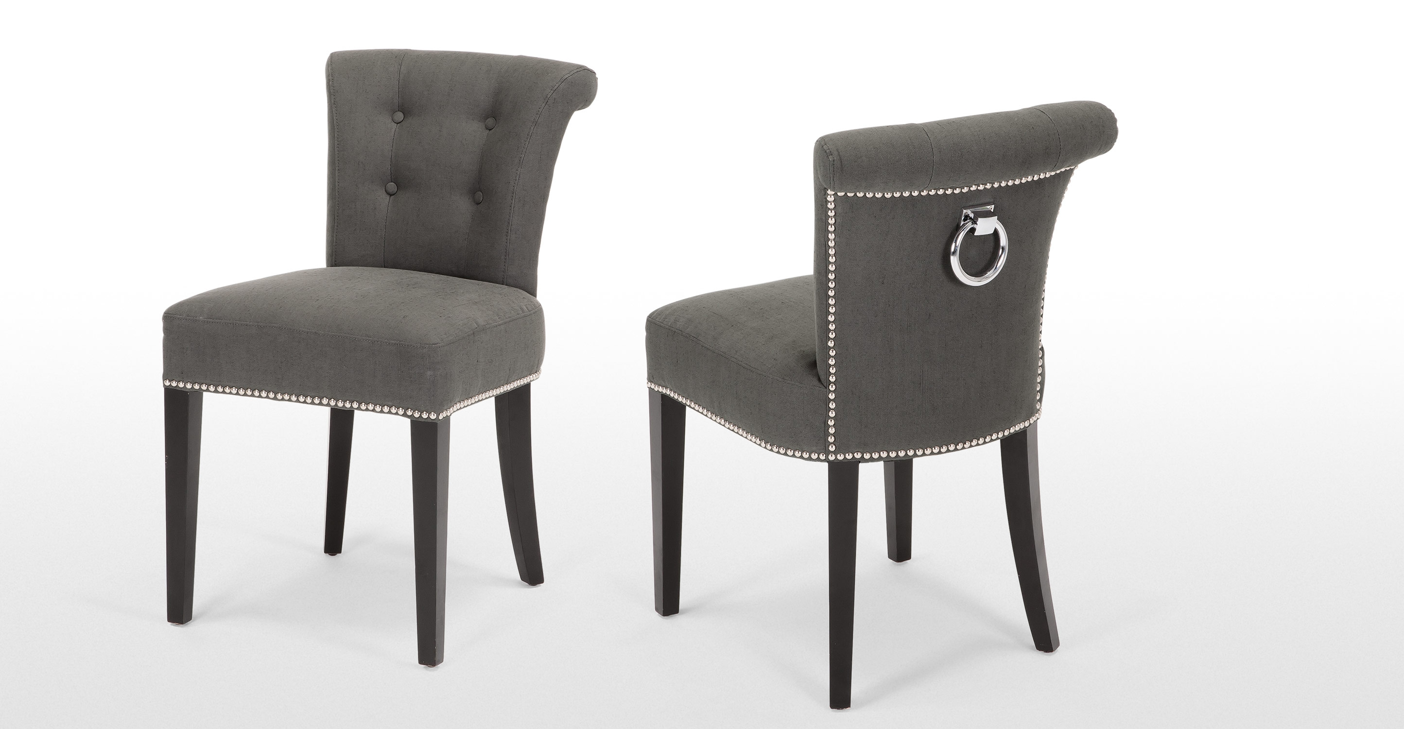 Tufted leather dining chairs - Tufted Leather Dining Room Chairs Tufted Dining Chair Wooden Dining Chairs
