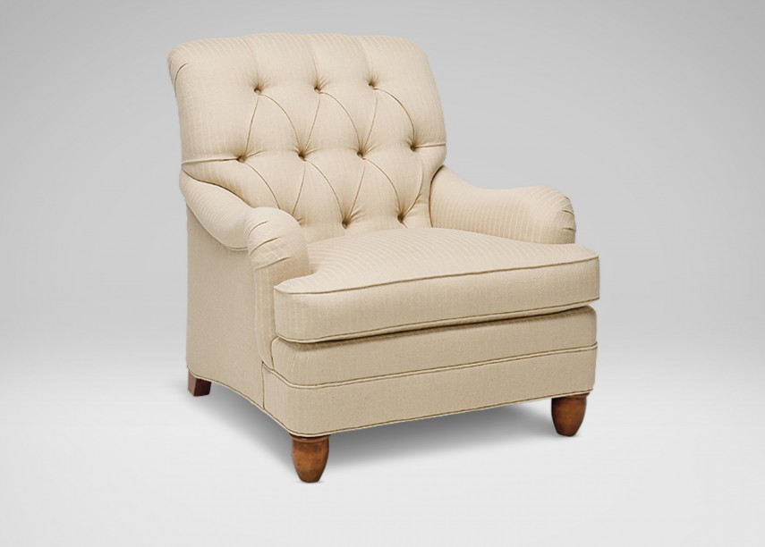 Tufted Nailhead Dining Chair | Tufted Chair | Slipper Chairs Under $100